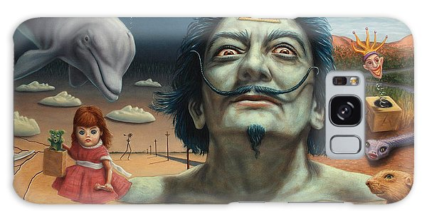 Dolphin Galaxy Case - Dolly In Dali-land by James W Johnson