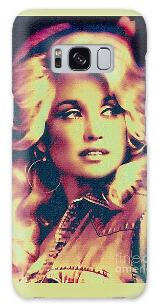 Dolly Parton - Vintage Painting Galaxy Case