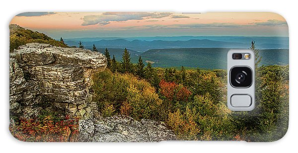 Dolly Sods Autumn Sundown Galaxy Case