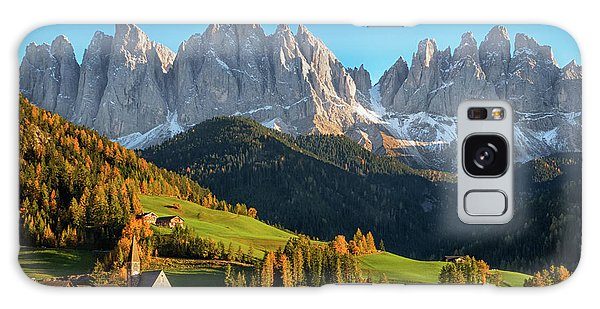 Dolomite Village In Autumn Galaxy Case by IPics Photography