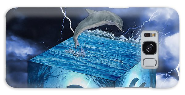 Dolphin Art Galaxy Case