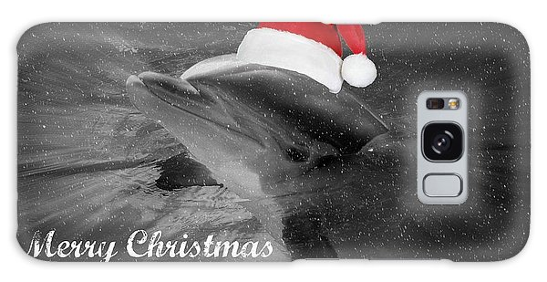 Dolphin Christmas Galaxy Case