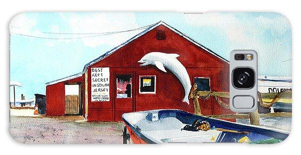 Dolphin Dock II Galaxy Case