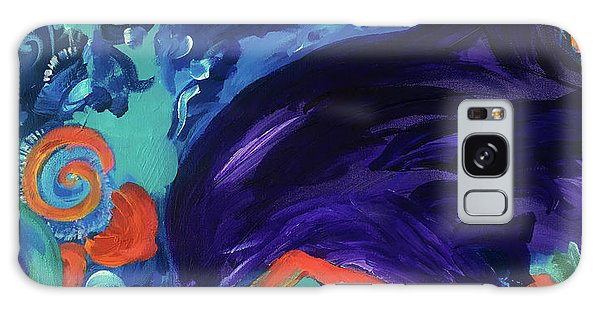 Dolphin Dreams Galaxy Case