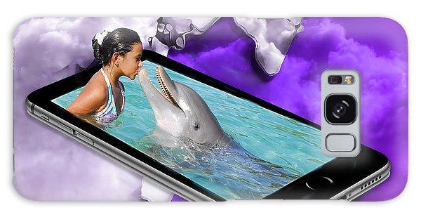 Dolphin Love Galaxy Case