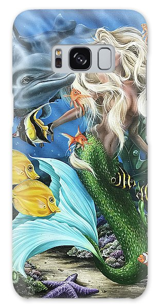 Dolphin Mermaid Galaxy Case