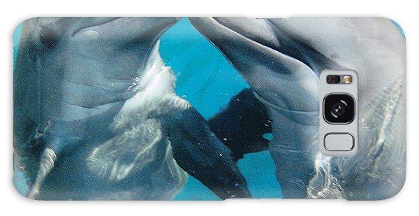 Dolphin Play Galaxy Case
