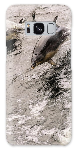 Dolphins Galaxy Case by Werner Padarin