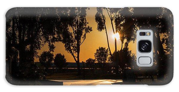 Dominguez Hills Sunset Galaxy Case
