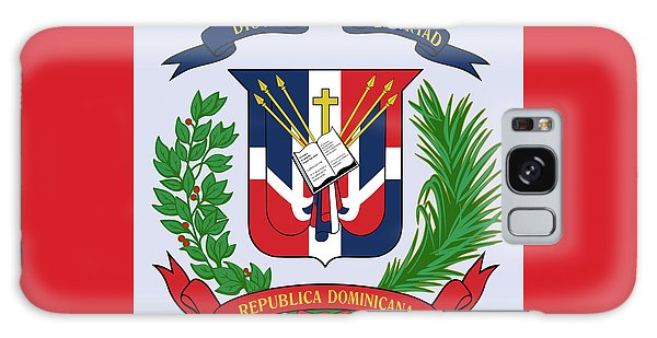 Dominican Republic Coat Of Arms Galaxy Case by Movie Poster Prints