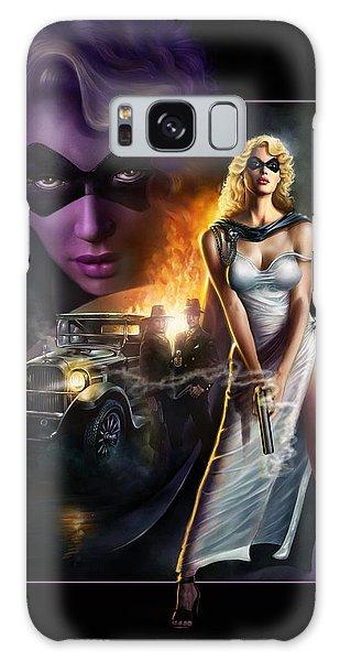 Domino Lady Galaxy Case