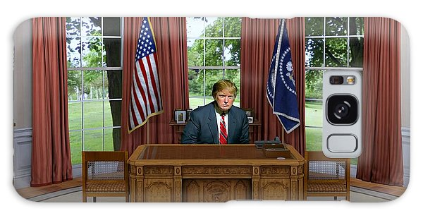 Donald Trump In The Oval Office Galaxy Case