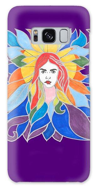 Donna Soul Portrait Galaxy Case