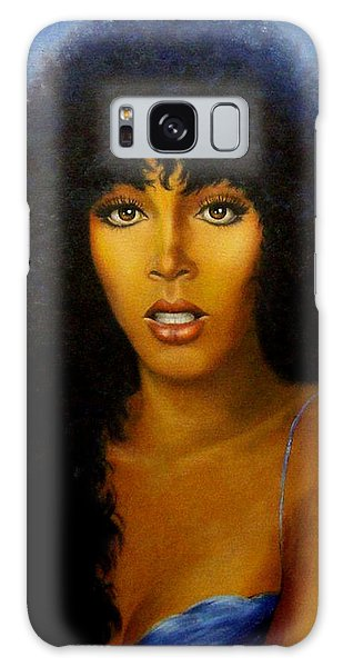 Donna Summers Galaxy Case by Loxi Sibley