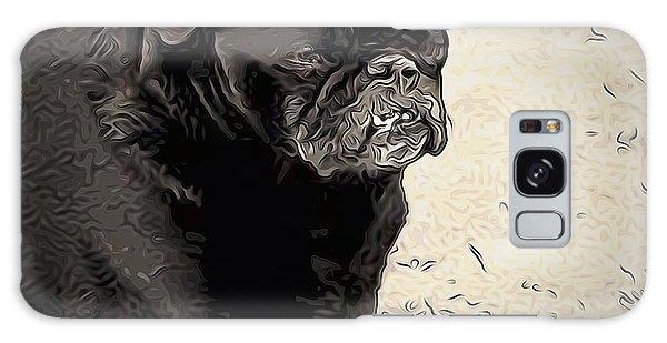 Donnas Bulldog Galaxy Case