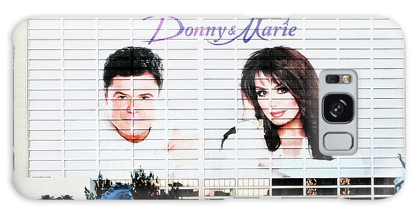 Donny And Marie Osmond Large Ad On Hotel Galaxy Case