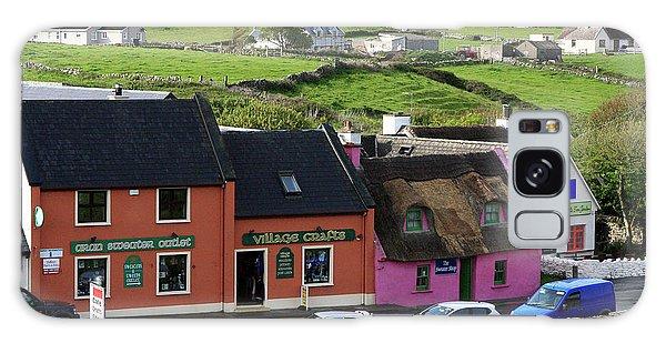 Doolin Village County Clare Galaxy Case