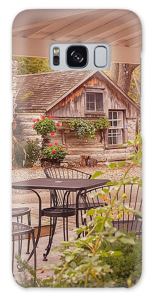 Door County Thorp Cottage Galaxy Case by Heidi Hermes