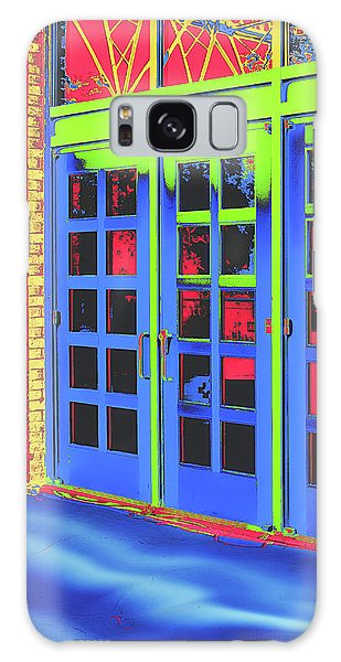 Galaxy Case featuring the digital art Doorplay by Wendy J St Christopher