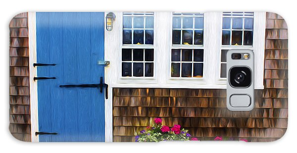 Blue Door - Doors And Windows Series 01 Galaxy Case