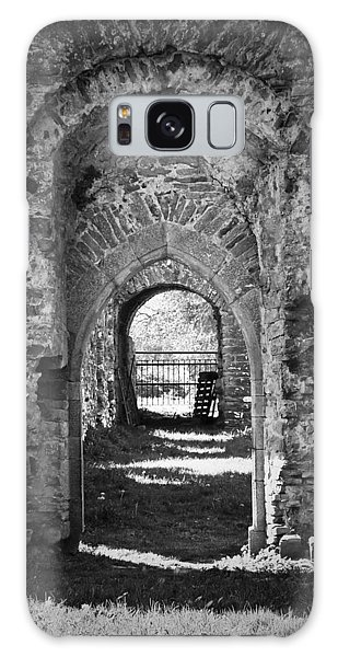 Doors At Ballybeg Priory In Buttevant Ireland Galaxy Case