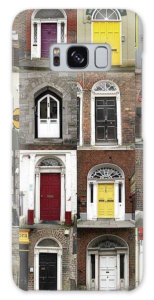 Doors Of Limerick Galaxy Case