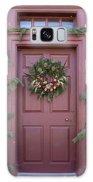Royal Colony Galaxy Case - Doors Of Williamsburg 108 by Teresa Mucha