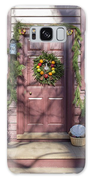 Royal Colony Galaxy Case - Doors Of Williamsburg 72 by Teresa Mucha
