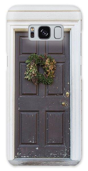 Royal Colony Galaxy Case - Doors Of Williamsburg 86 by Teresa Mucha