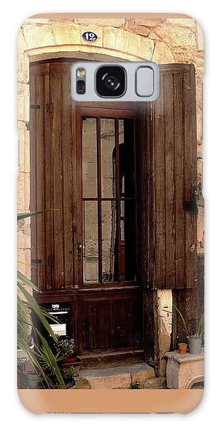 Doorway At Number 12 Galaxy Case by Victoria Harrington