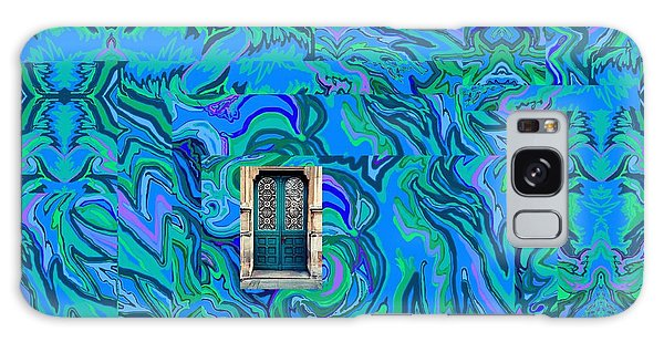 Doorway Into Multi-layers Of Water Art Collage Galaxy Case