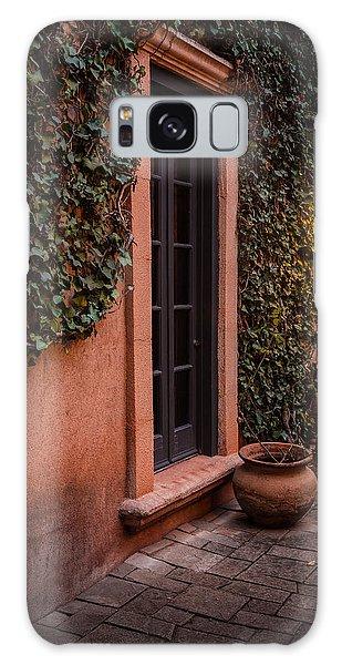 Doorway Through The Vines Galaxy Case