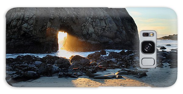Doorway To Heaven In Big Sur Galaxy Case