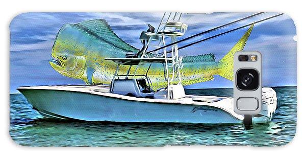Motor Yacht Galaxy Case - Dorado Yellowfin by Carey Chen