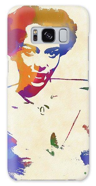 Dorothy Dandridge Watercolor Galaxy Case