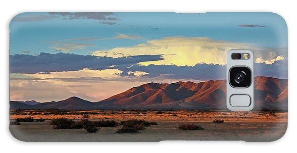Dos Cabezos Sunset Serenity Galaxy Case