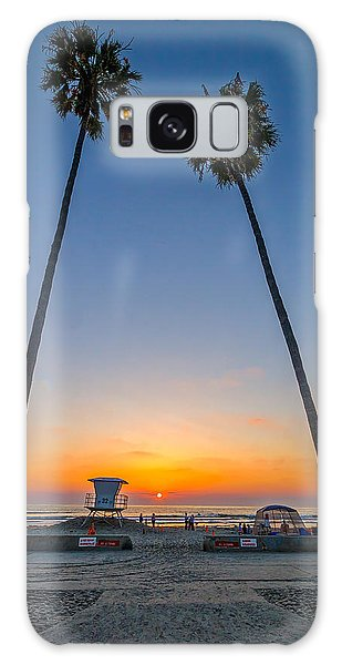 Dos Palms Galaxy Case by Peter Tellone