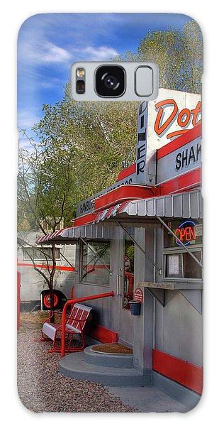 Dot's Diner In Bisbee Galaxy Case