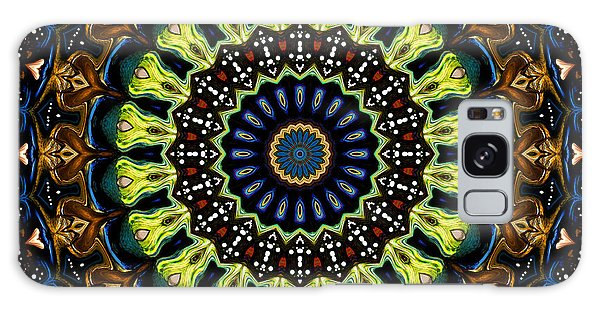 Galaxy Case featuring the digital art Dotted Wishes No. 3 Kaleidoscope by Joy McKenzie