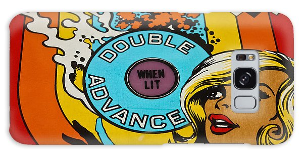 Double Advance - Pinball Galaxy Case by Colleen Kammerer