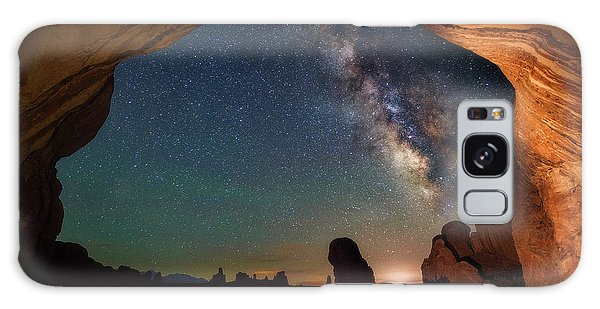 Double Arch Milky Way Views Galaxy Case by Darren White