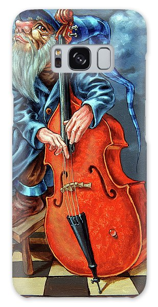 Double Bass And Bench Galaxy Case