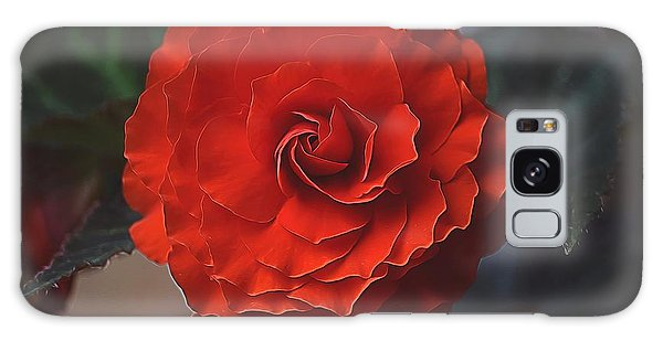 Double Begonia Bloom Galaxy Case