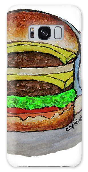 Double Cheeseburger Galaxy Case