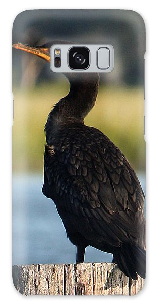 Double-crested Cormorant 1 Galaxy Case