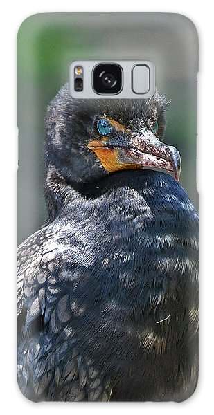 Galaxy Case featuring the photograph Double-crested Cormorant by Ken Stampfer