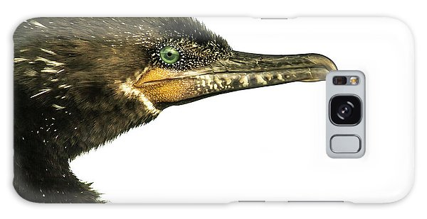 Double-crested Cormorant  Galaxy Case by Robert Frederick