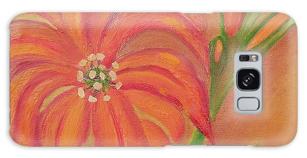 Double Headed Orange Day Lily Galaxy Case by Margaret Harmon
