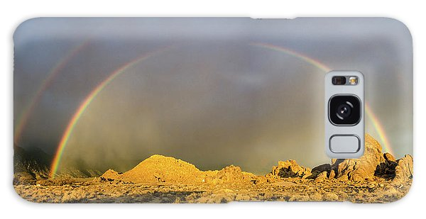 Double Rainbow Gold Galaxy Case