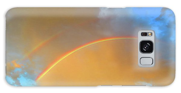 Double Rainbows In The Desert Galaxy Case
